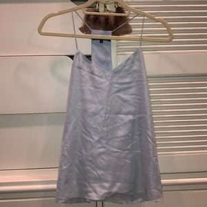 Tibi Silk Tank Top